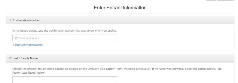 """klikamy na link w nim umieszczony """"Forgot Confirmation Number""""."""